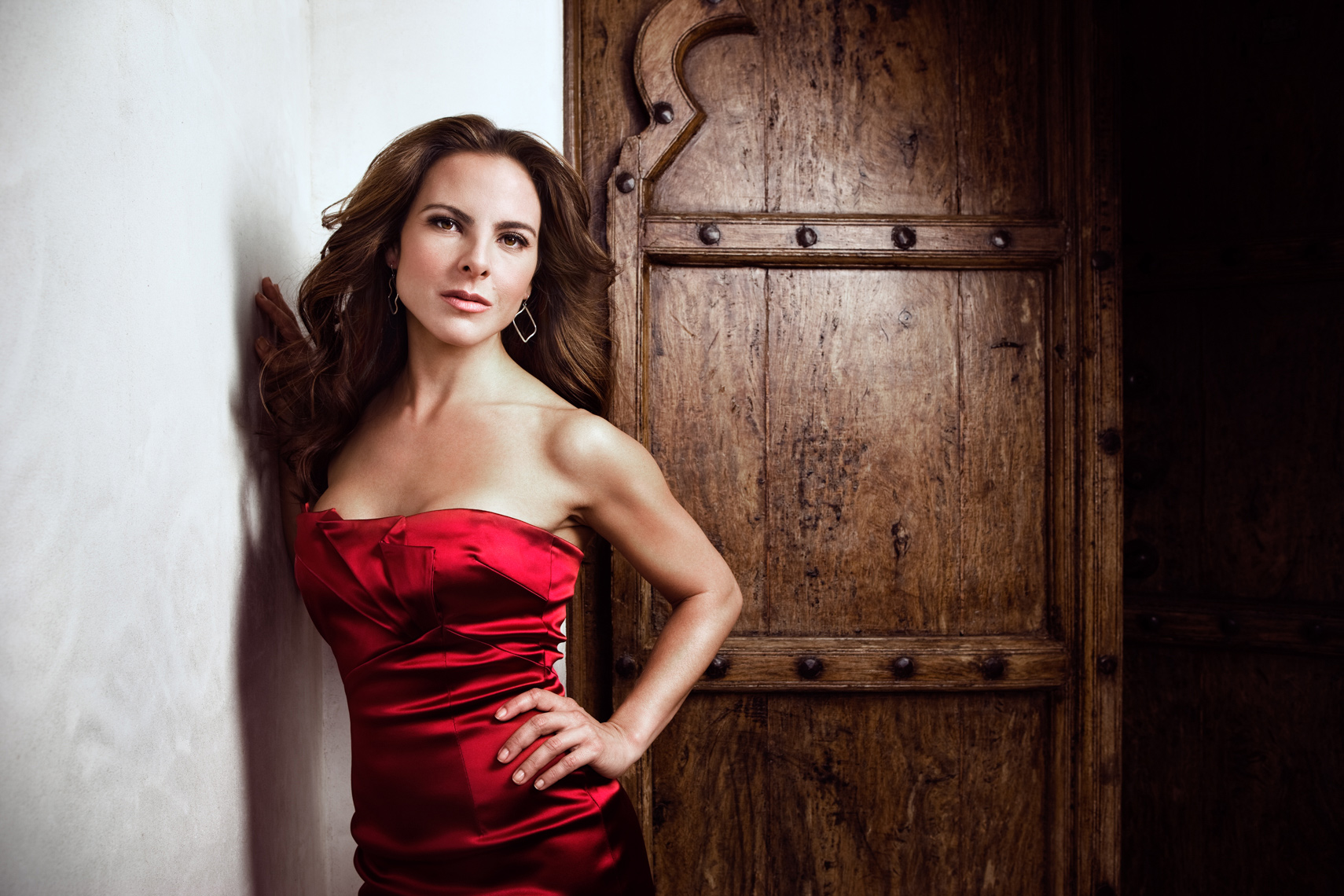 Kate DelCastillo Portrait by commercial celebrity advertising photographer Michael Grecco
