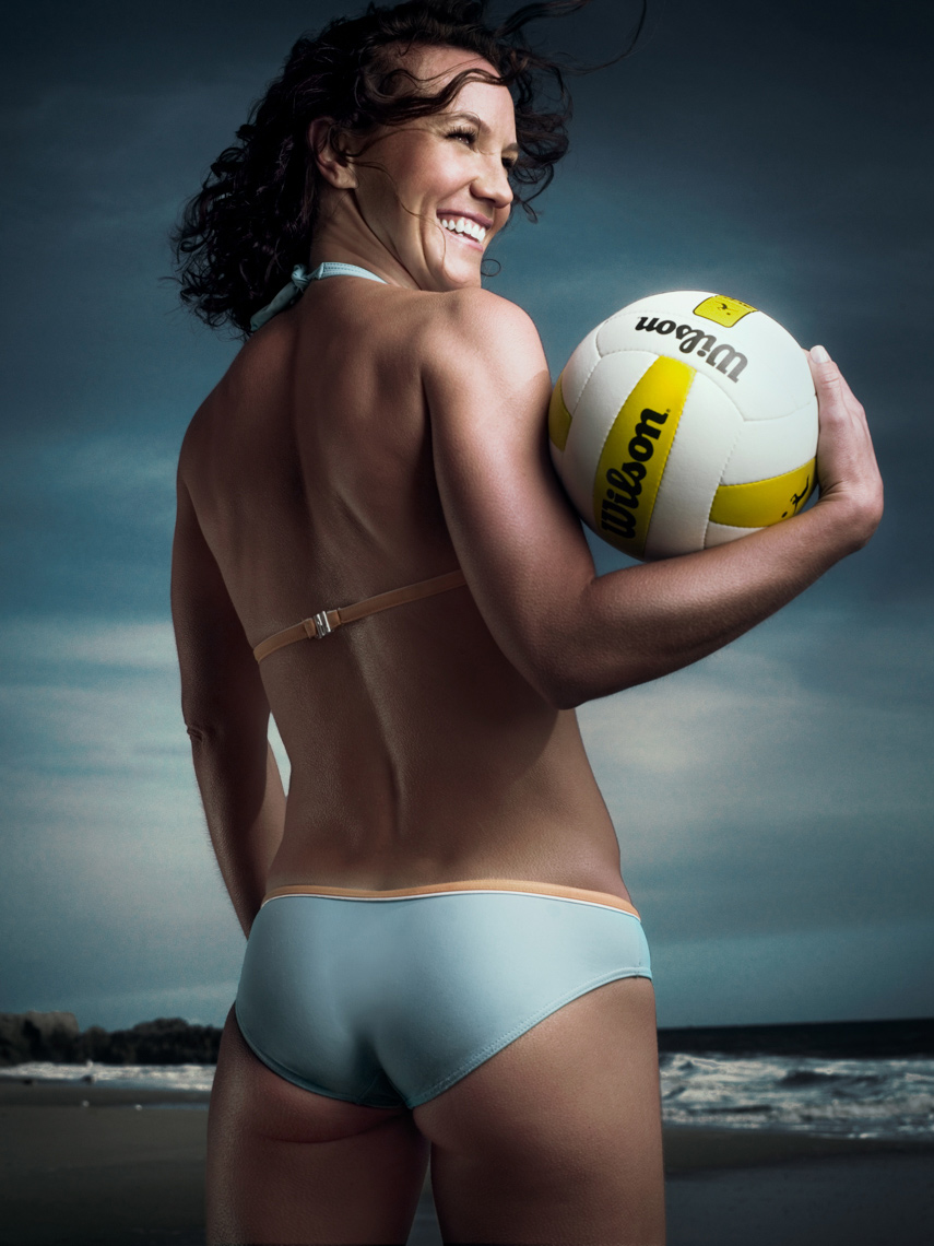 Leanne McSorley Portrait by commercial sports photographer Michael Grecco